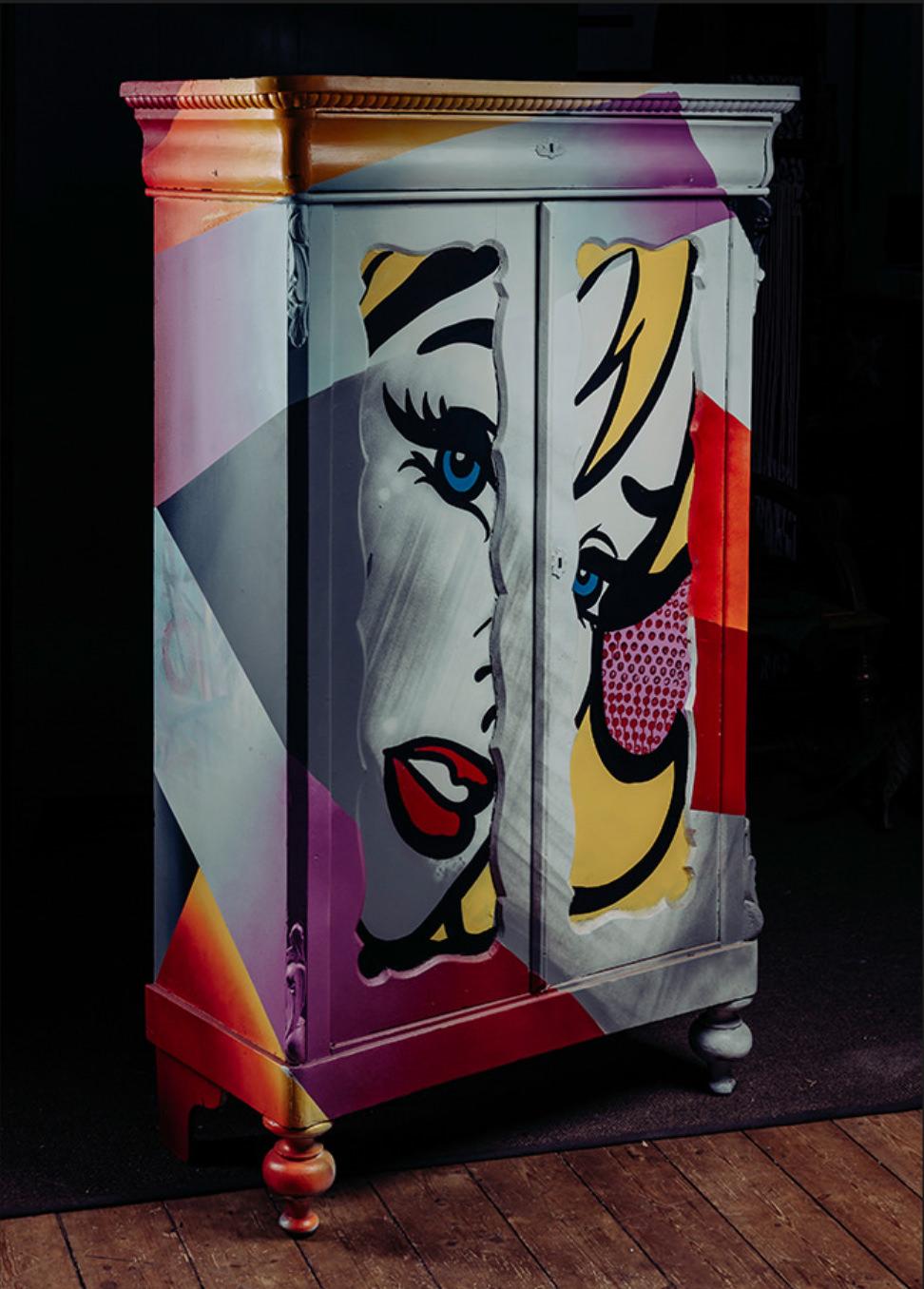 graffiti-furniture-popart-closet